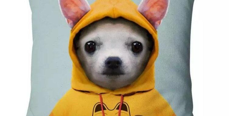 Soft Velvet Chihuahua Cushion