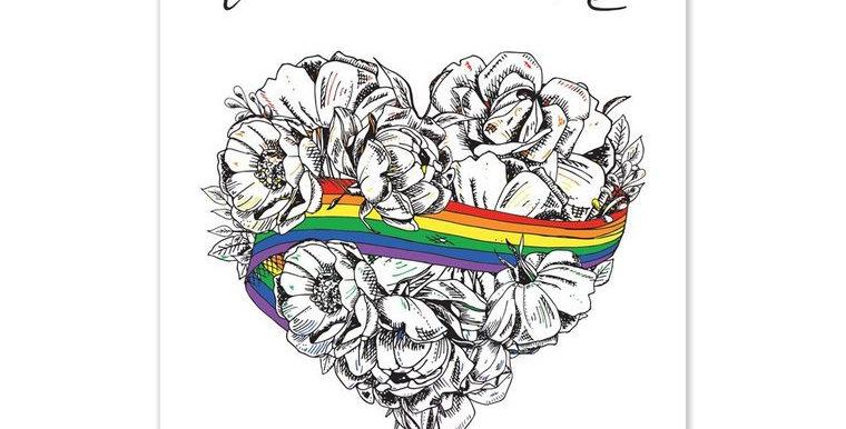 Love is Love A3 Print