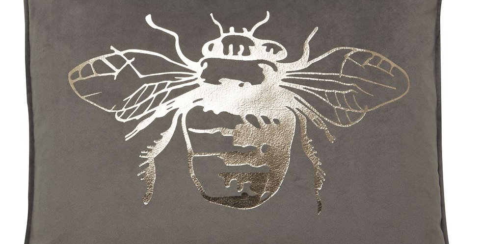 HONEY BEE FOIL CUSHION