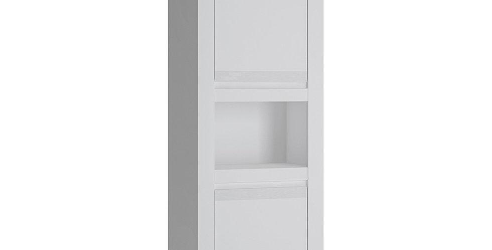 Novi 2 Door Chiffonier in Alpine White