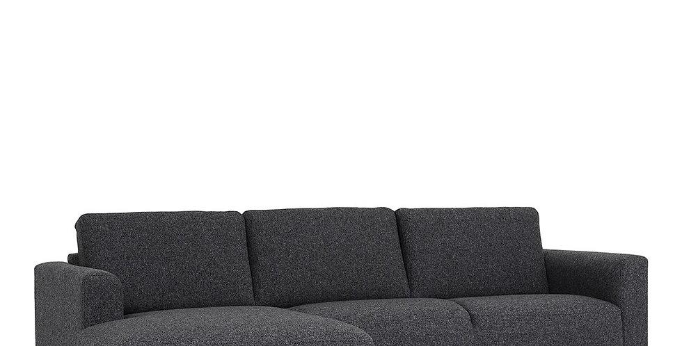 Cleveland Chaiselongue Sofa (LH) in Nova Antracit