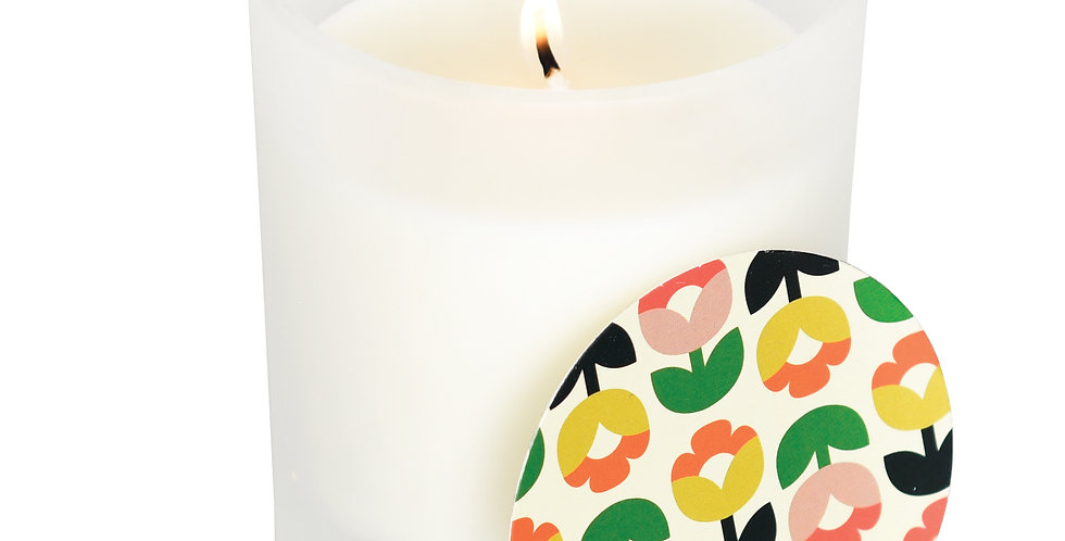 TULIP BLOOM BOXED SCENTED SOY CANDLE