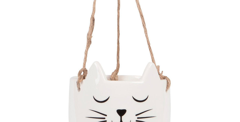 CAT'S WHISKERS HANGING PLANTER