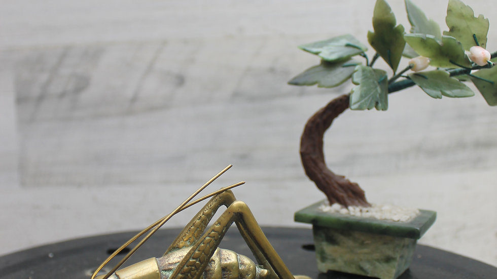 Brass Cricket Figurine-Small