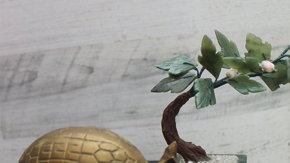 Brass Armadillo Figurine