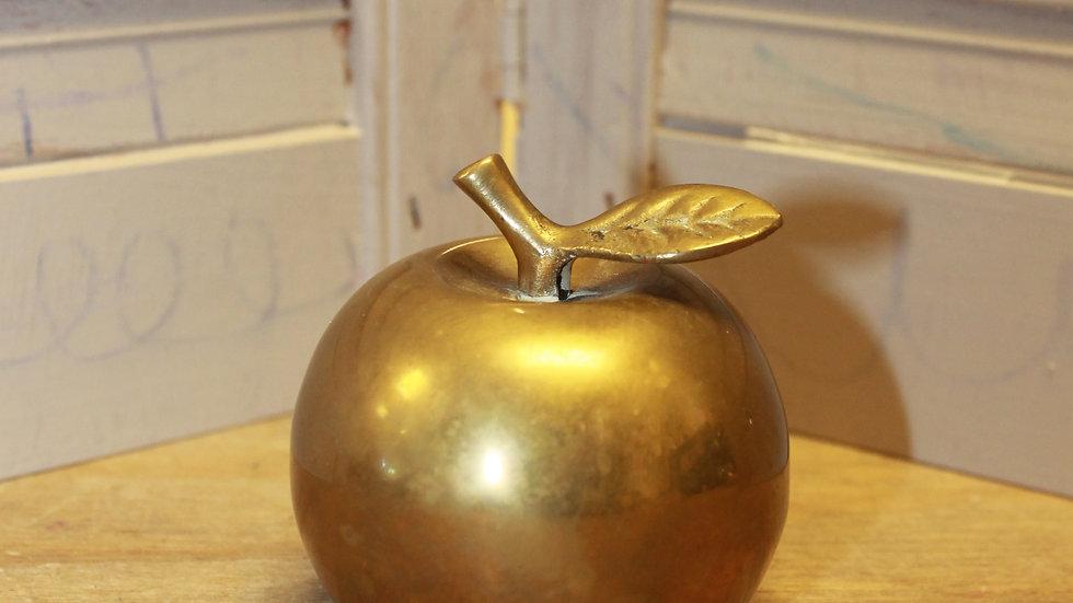 Brass Apple Bell Ringer