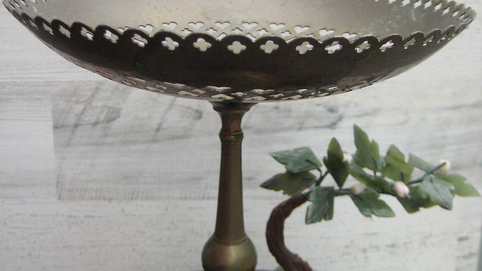 Brass Table Top Candy Dish