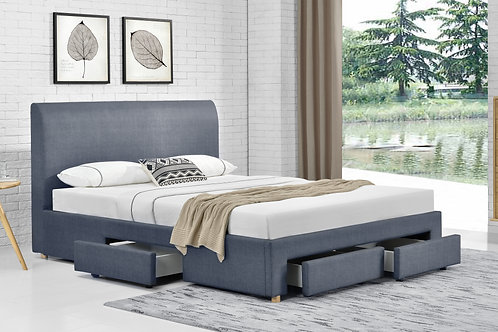 Brand New MASCO Fabric Drawer Bed Frame in King size | Bed Factorie, Morayfield