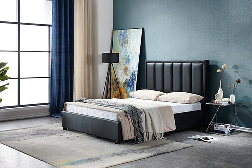 Brand New DEN-BLACK Bed Frame in Queen & King sizes | Bed Factorie, Morayfield