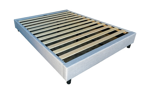 Brand New Bed Base in Grey Fabric (Available in all sizes) - Citylife Furniture, Sumner