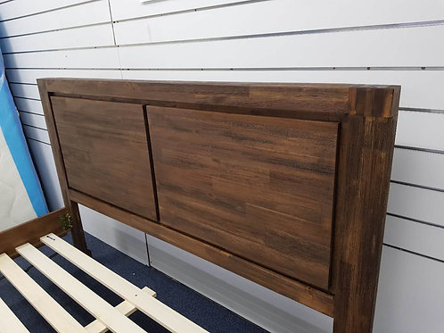 Brand New OCEAN Acacia wood Timber Bed Frame | Bed Factorie