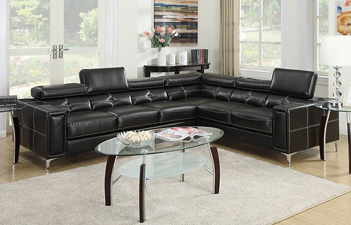 Brand New DIAMOND Premium Corner Sofa in Black | Citylife Furniture, Brisbane