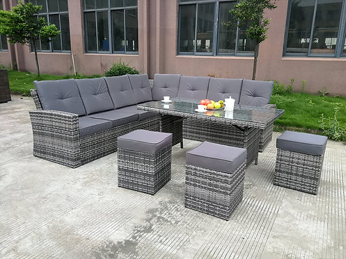 Brand New Summerset II - 10pc Outdoor Sofa + Dining Setting | Citylife Furniture, Brisbane Outdoor outlet