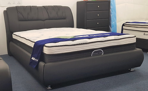 Brand New CANDY Modern Bed Frame with Metal Frame Slat base | Citylife Furniture, Brisbane