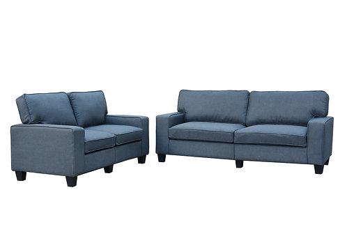 United - Lounge Fabric Sofa Pair | Citylife Furniture Store, Brisbane