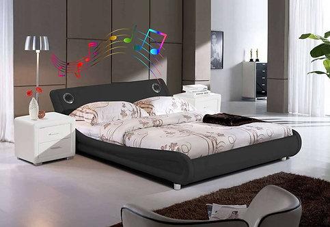 Brand New OLIVA Bluetooth Speaker Bed Frame | Citylife Furniture, Sumner