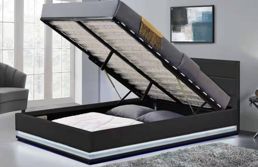 Oxford Gas Lift Storage Bed