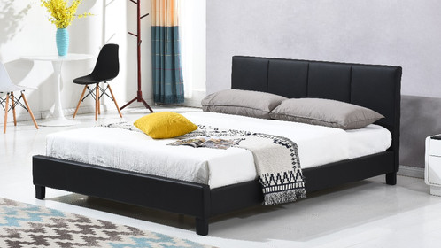 Milan PU Leather Bed Frame - Double/Queen/King | Citylife Furniture