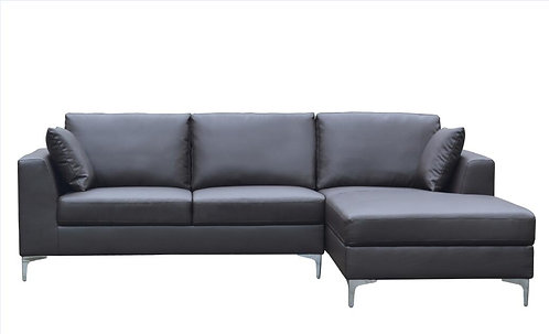 Brand New Stanley Chaise Sofa In Black | Citylife Furniture, Sumner Store