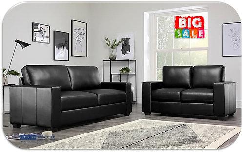 Brand New NIXON 3+2 Seater Black Sofa Pair | Citylife Furniture, Brisbane
