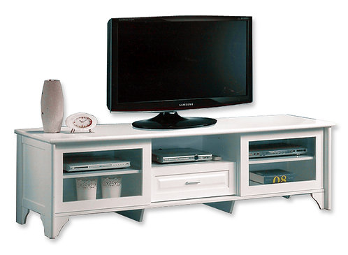 Crystal Entertainment Unit 2 - White | Citylife Furniture Living Room Collection, Brisbane