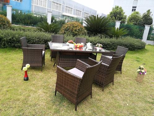 Brand New MILANA 7pc Outdoor Dining Furniture Set | Citylife Furniture, Brisbane Outdoor Store