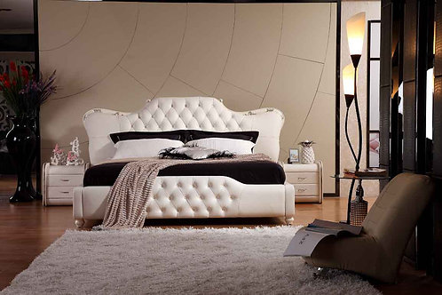 Brand New Royal CROWN Modern Bed Frame - Available in Queen and King sizes | Citylife Furniture, 42 Spine St, Sumner