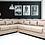 Brand New HUDSON Modern Corner L Shape Sofa in Beige - Citylife Furniture, Brisbane