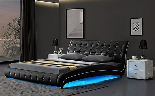 Brand New Banyo LED Modern Bed Frame - Queen/King sizes | Citylife Furniture, 42 Spine St, Sumner 4074