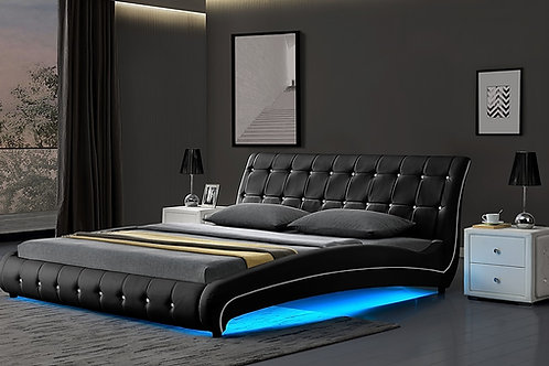 Brand New BANYO LED Bed Frame in Queen, King sizes | Bed Factorie, Morayfield