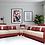 Brand New BERLIN Microfiber leather Corner L Shape Modern Sofa - Citylife Furniture, Brisbane