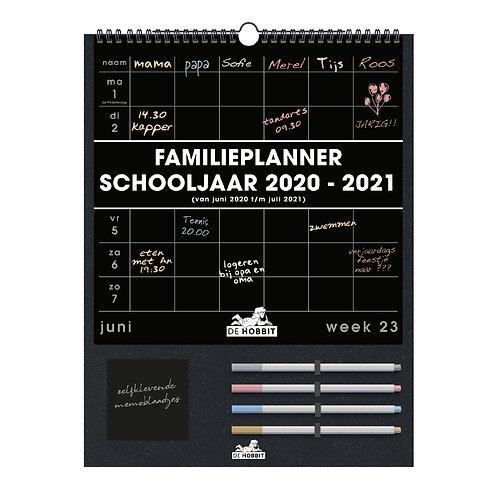 Familieplanner Zwart D1