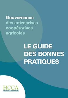 Le guide des bonnes pratiques de gouvernance des entreprises coopératives agricoles