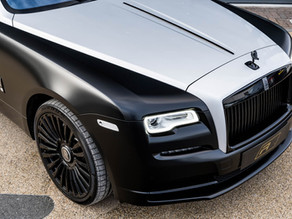 2020 Rolls Royce Wraith Murdered Out at Redline Specialist Cars on 22-Inch LOMA Forged Wheels!