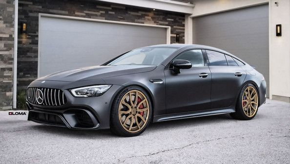 ALLOY FORGED RIMS MERCEDES AMG GT4 | LOMA SP1-SL WHEELS