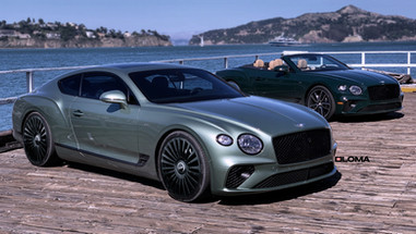 Three Piece Wheels | Bentley GT