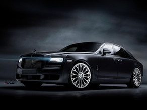 24-Inch Monoblock custom forged luxury concave wheels for the Rolls-Royce Ghost