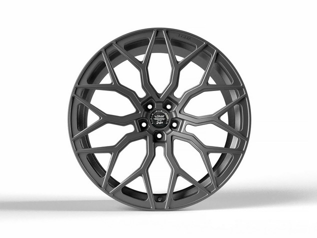 LOMA WHEELS | BLACKFORCE ONE COMPETITION GUNMETAL
