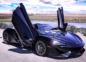 LOMA MCLAREN 570S TUNING 20/21 CUSTOM FORGED WHEELS MAKES IT READY TO FLY