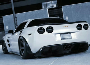 LOMA CORVETTE GT2 WIDEBODY - NON WIDE VS WIDE AND WHY A REGULAR Z06 LOOKS LIKE A BABY BESIDE THE GT2