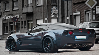 ALLOY FORGED RIMS CORVETTE C6 WIDEBODY| LOMA GTC-SL WHEELS