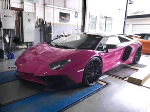 LOMA LAMBORGHINI AVENTADOR SV STYLE FACE LIFT CONVERSION BODY KIT TO TRANSFORM YOUR AVENTADOR LP700