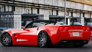 ALLOY FORGED RIMS CORVETTE C6 WIDEBODY | LOMA GTC-SL WHEELS