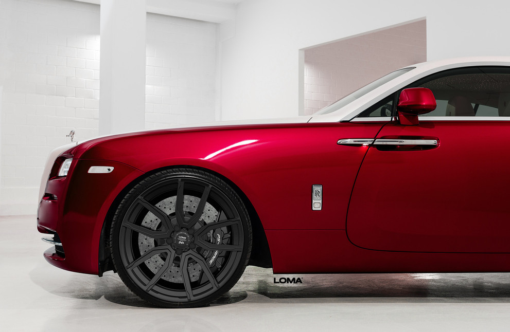 Custom Forged Concave Wheels Rolls Royce Wraith