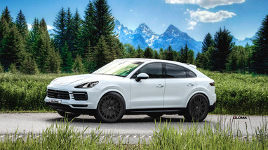 LUXURY FORGED CONCAVE WHEELS PORSCHE CAYENNE COUPE | LOMA WHEELS