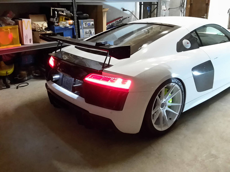 CUSTOM FORGED CONCAVE WHEELS AUDI R8 WHEELS | LOMA RS-F1 SUPER CONCAVE