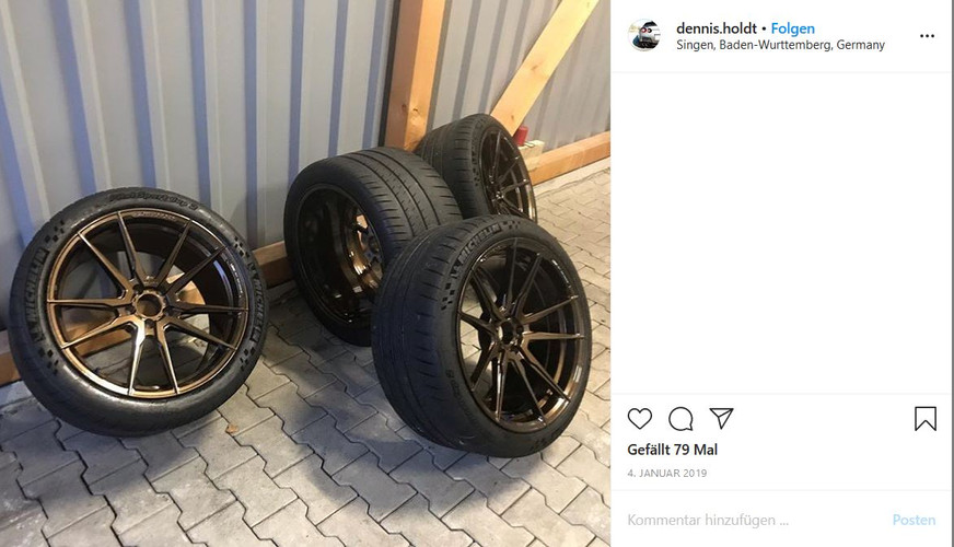 LOMA WHEELS   NISSAN GT-R DENNIS HOLDT