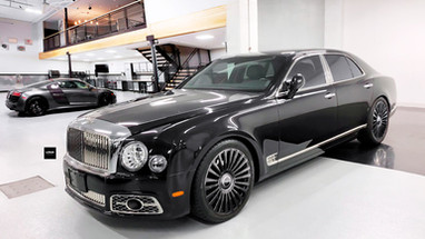 Three Piece Wheels | Bentley Mulsanne