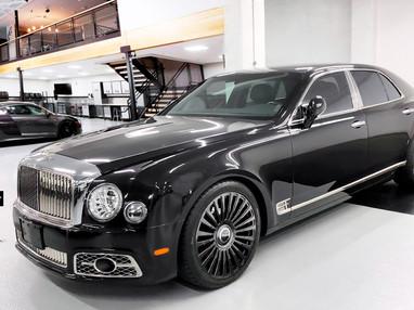 Bentley Mulsanne Custom Forged Wheels.