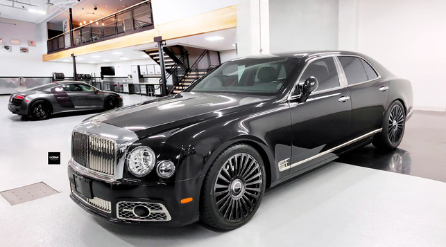 FORGED LUXURY WHEELS BENTLEY MULSANNE | LOMA WHEELS